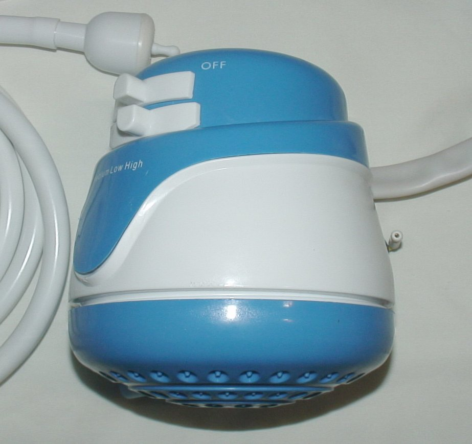 Electric Shower Head W Built In Tankless Water Heater 120v And 220v
