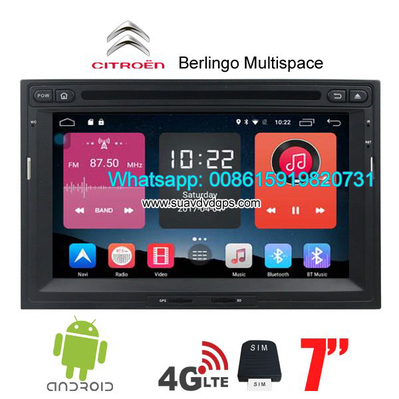 citroen berlingo multispace car radio update android gps camera unspecified unspecified. Black Bedroom Furniture Sets. Home Design Ideas