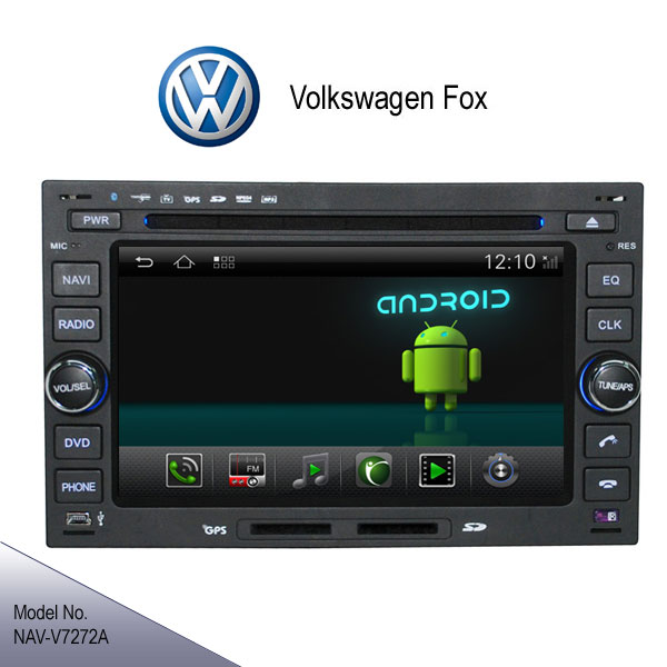 android 4 2 volkswagen fox stereo radio car dvd player gps. Black Bedroom Furniture Sets. Home Design Ideas