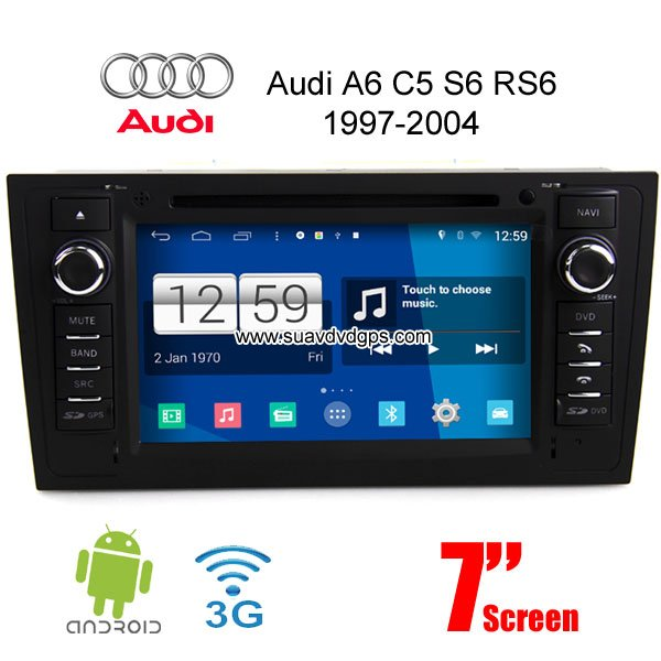 Audi A6 C5 S6 RS6 Android Car Radio DVD GPS-Unspecified